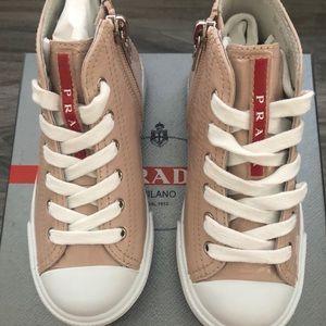 New Prada high top sneakers as 27